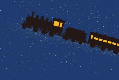 イラスト 銀河鉄道の夜