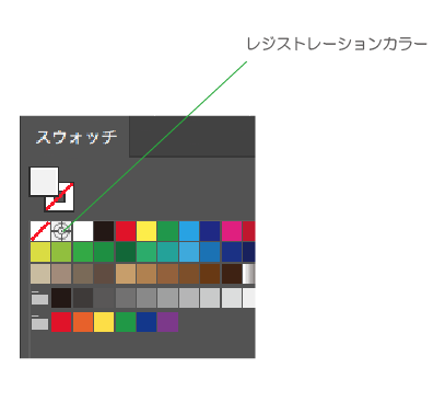 レジストレーションカラー