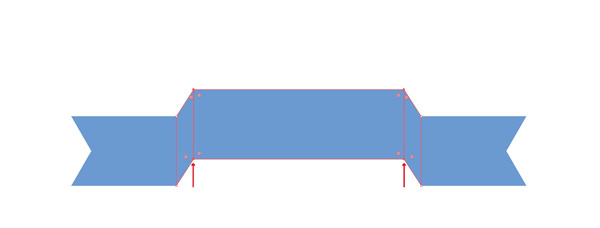 Move the selected Anchor Point up. You can transform it as shown in the figure.