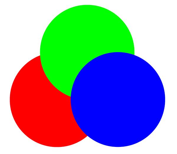 丸が3つ三角状に配置した画像