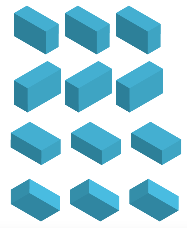 The example of Isometric