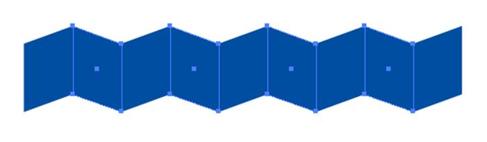 長方形を交互に選択