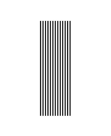 複製した幅の狭い長方形