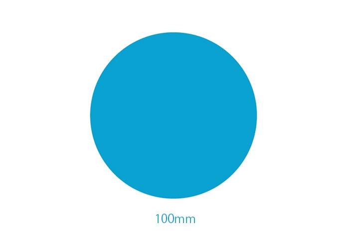 直径100mmの真円